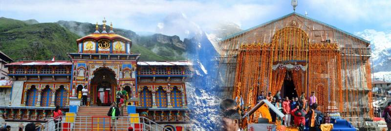Do Dham Yatra Helicopter Package ( Shri Kedarnath Ji & Shri Badrinath Ji)