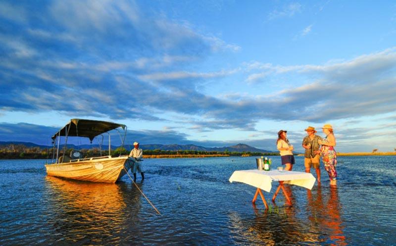 5N/6D Great Zambezi Canoeing Safari Package