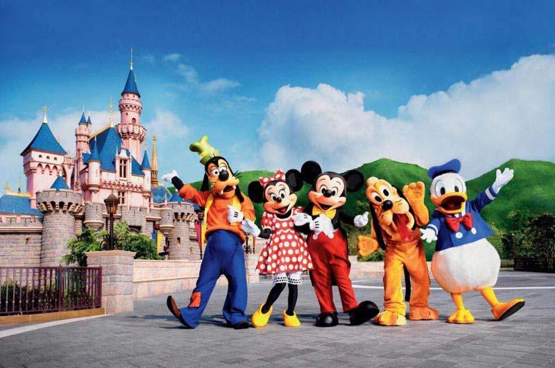 Hong Kong & Disneyland Tour