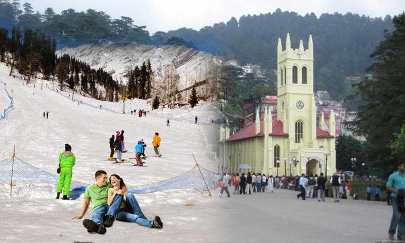 Best of Shimla & Manali Honeymoon Special Package