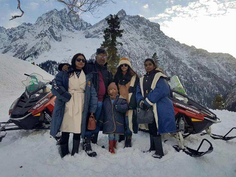 Snowy Sonmarg