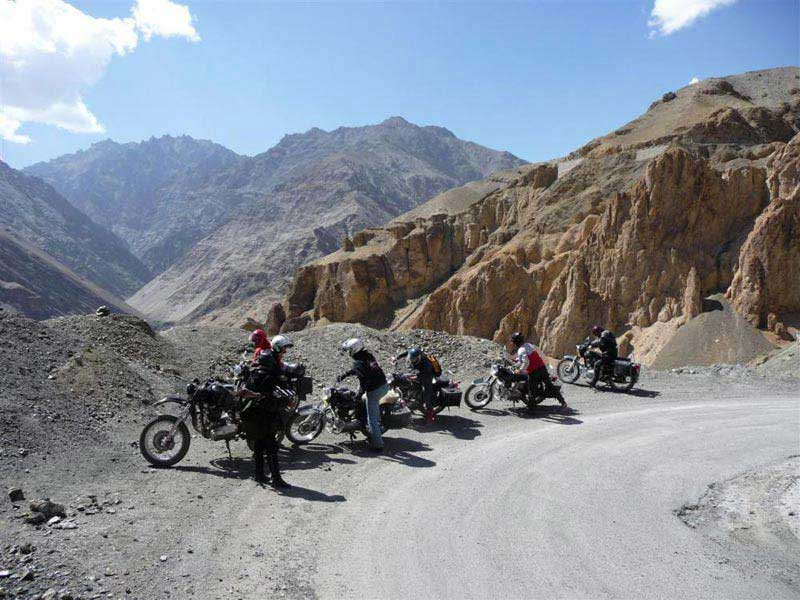 Motor Bike Tour Leh to Zanskar