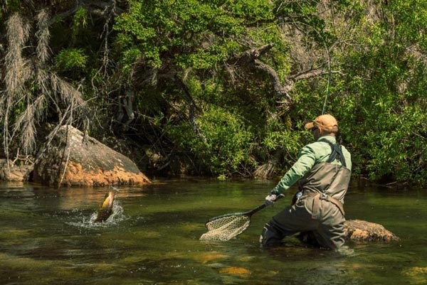 Motorbike - Bouldering and Fly Fishing Tour