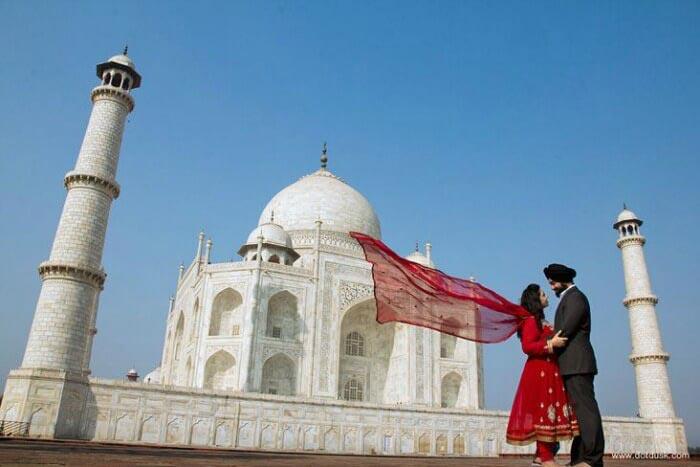 Manali Honeymoon Package with Taj Mahal