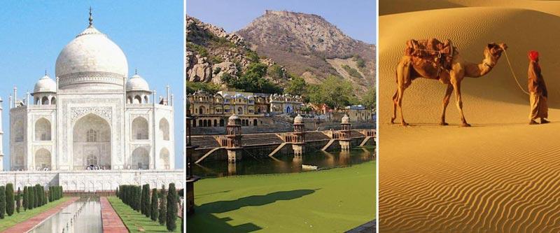 Rural Rajasthan Tour with Taj Mahal Tour