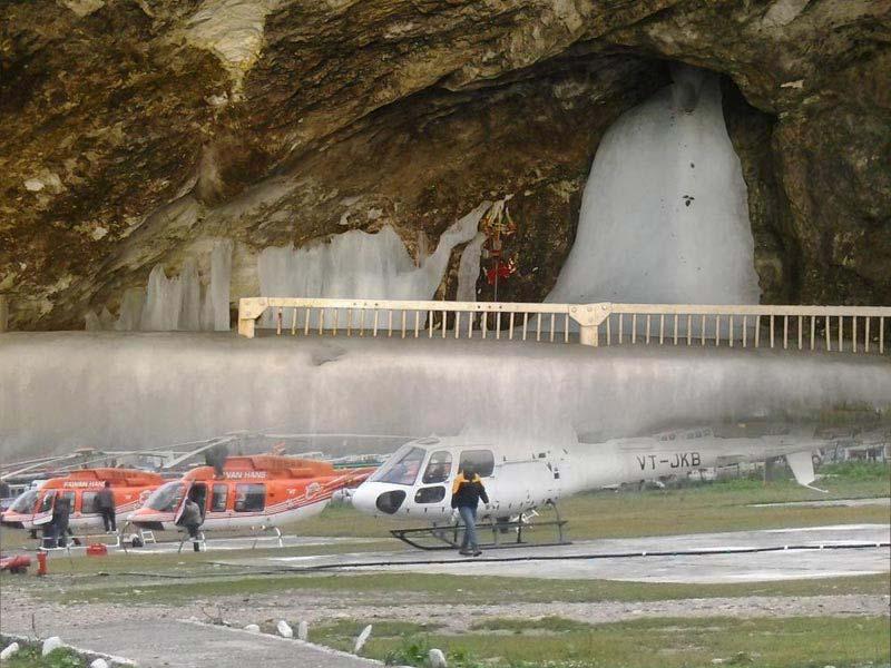 Amarnath Yatra By Helicopter - Ex Neelgrath Baltal Tour