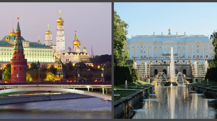 Moscow and St Petersburg 5 Days