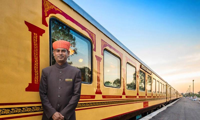 Palace on Wheels A Royal Train Journey Package