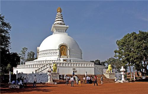 Golden Triangle of Buddhist Tour Package