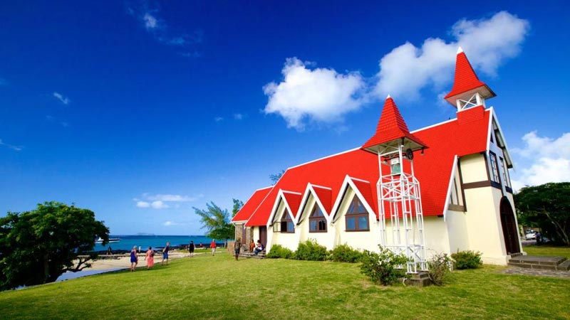 red church - Cap malheureux