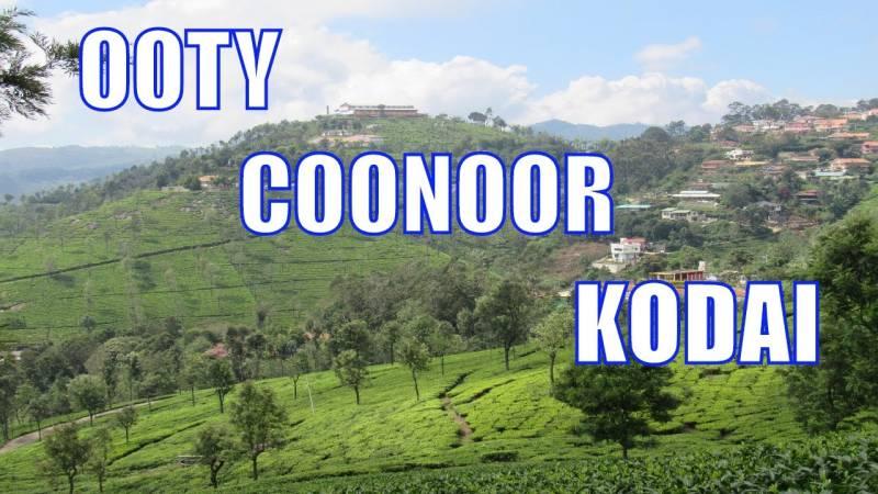 Bangalore Mysore Ooty Kodaikanal Tour