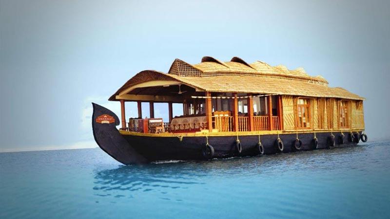Munnar - Allappey Houseboat - Cochin Tour