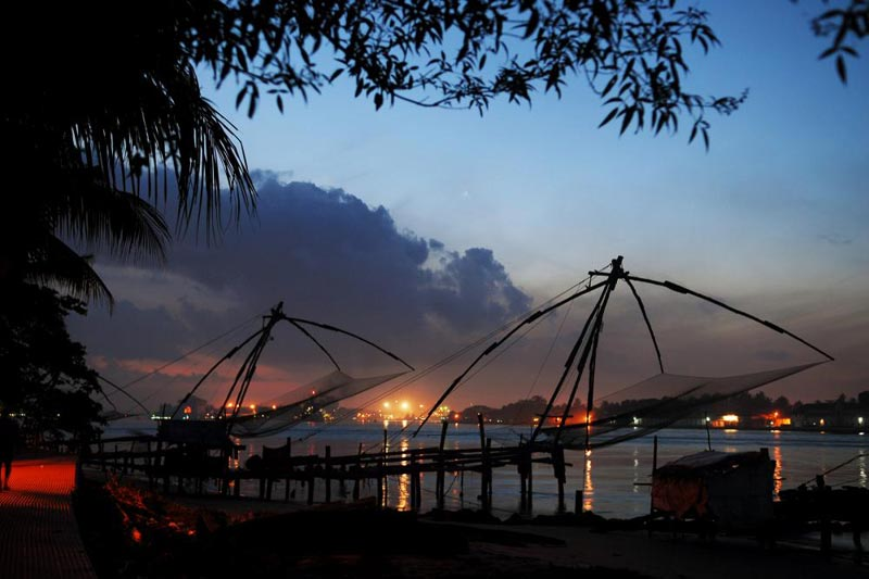 Hill Station ,backwater & Beach  Kerala Package