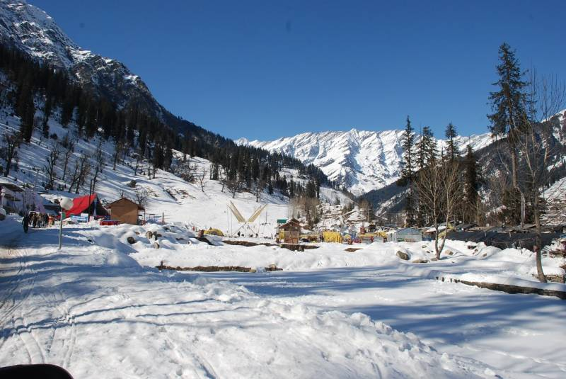 Chandigarh - Shimla - Manali Package