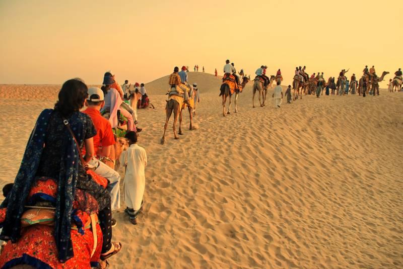 Delightful Rajasthan Tour Enjoy the Sand Dunes & Safari Camp Tour