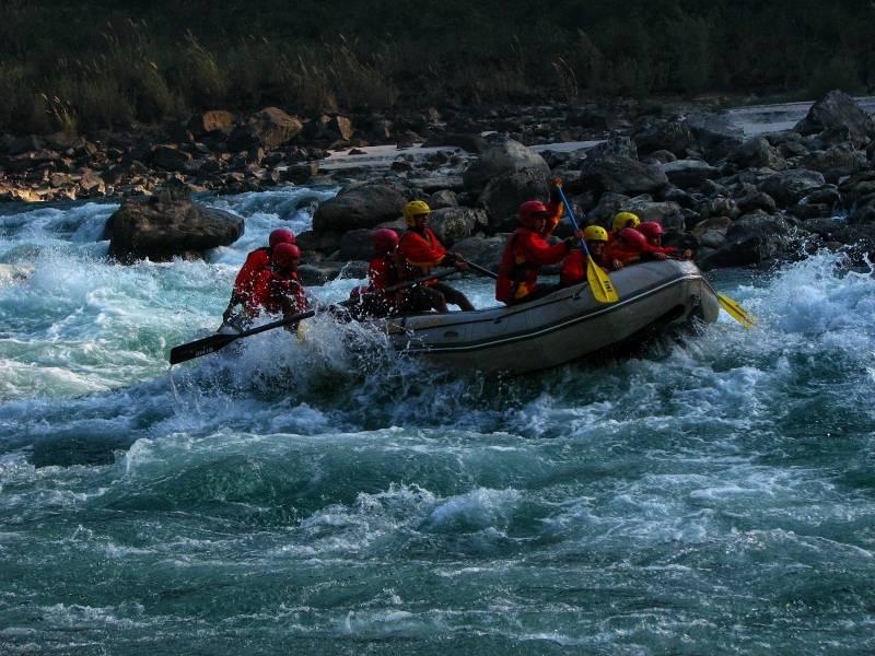 Brahmpuri to Ram Jhula River Rafting Tour  02 Days