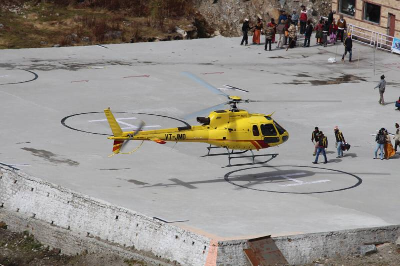 Teen Dham Yatra – Ex – Haridwar with Helicopter to Kedar