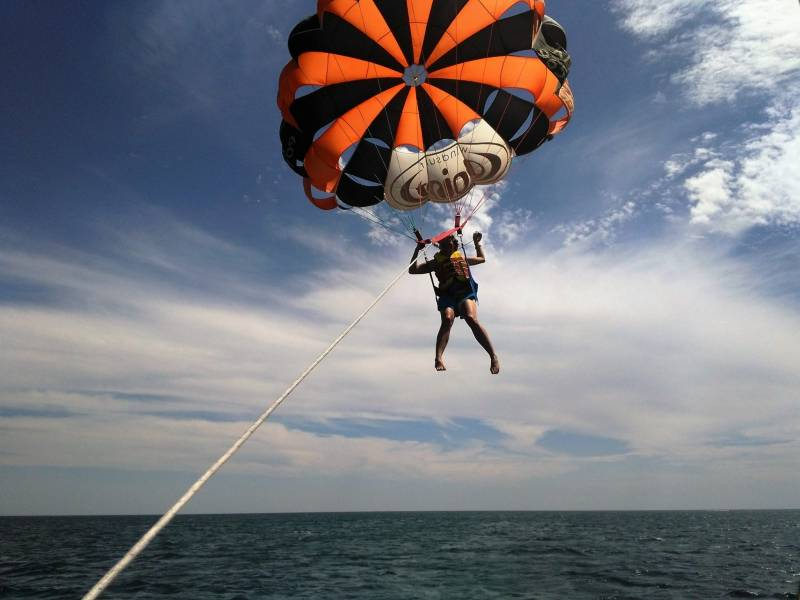 One Day Parasailing Package