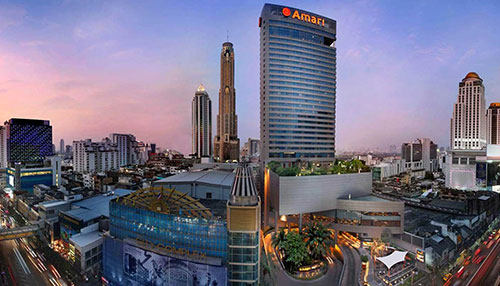 Amari Watergate Bangkok - 5 Star Tour