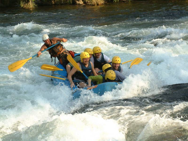 Deluxe Tents + Rafting in Rishikesh Tour