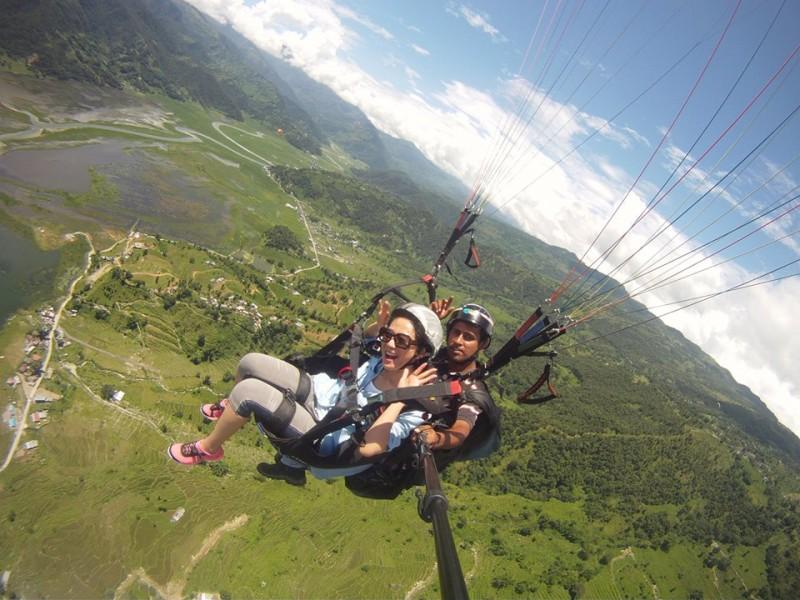 Tandem Paragliding in Kamshet Tour
