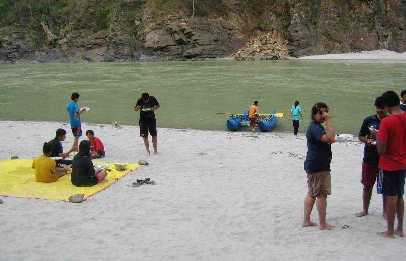 Rafting in Jayalgarh Tour