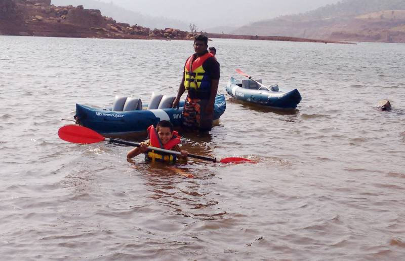 Mountain with Water Sports Camp Tour
