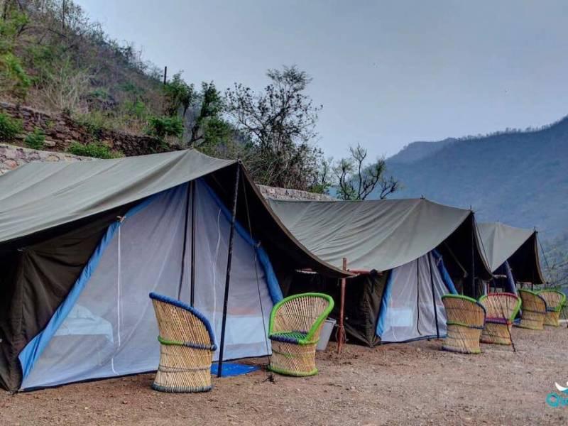 1 Night 2 Days Rishikesh Rafting & Camping Adventure Tour Package