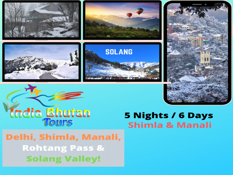 Excellent Shimla Manali 5 Nights/6 Days Tour