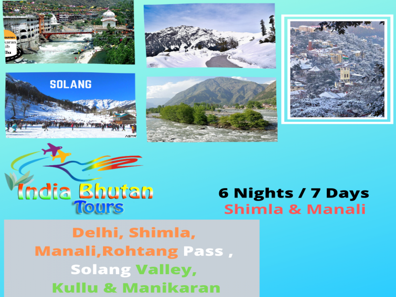 Best Shimla Manali Trip 6 Nights & 7 Days Tour