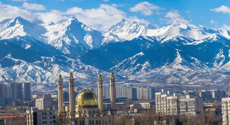 Almaty with Baku Tour