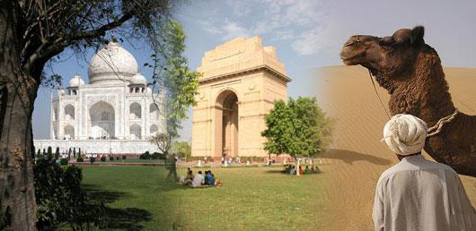 Golden Triangle of India Package