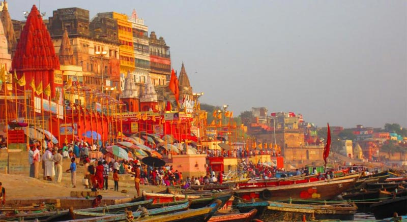 Golden Triangle with Spiritual Varanasi Tour