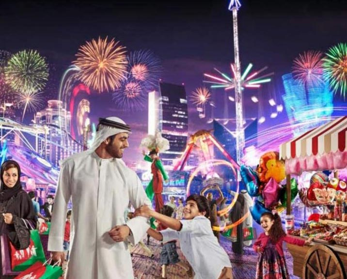Dubai Festival And New Year Tour