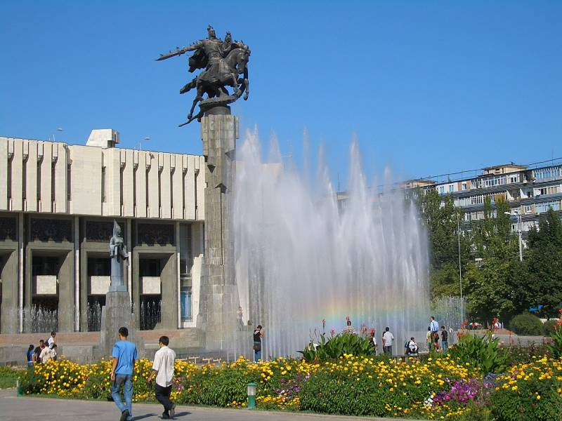 Bishkek with Kashkasu Tour