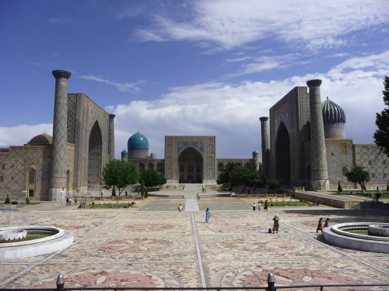 Tashkent with Samarkand Tour 5 Days