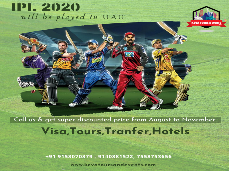 IPL At Dubai - Travel Safe