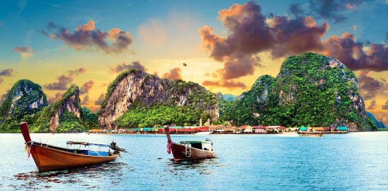 Krabi - Phuket - 3 Star Tour