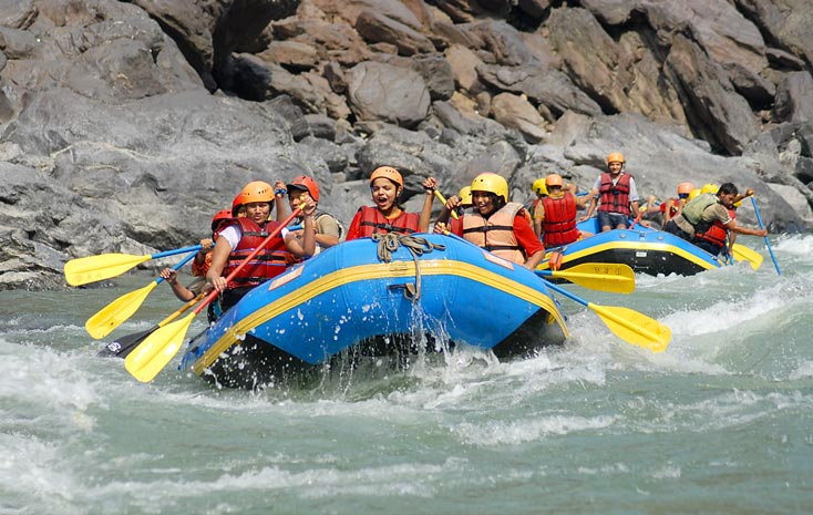 Marine Driver to Rishikesh Tour - (2 Night Stay + 24 Km Rafting)