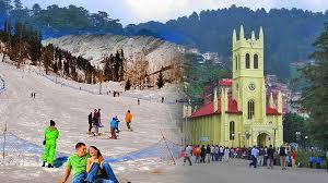 Shimla Manali (6 Nights & 7 Days) Chandigarh Shimla(2n), Manali  (3 N) Tour