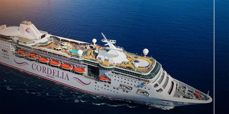 Mumbai - Goa By Cordelia Cruise for 3 nights Ocean View Room 3 Nights Goa