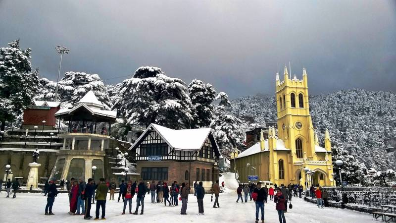 5 Night 6 Days Shimla to Manali Volvo Package