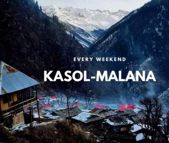 Malana Kasol 3 Night 4 Day Trip Package