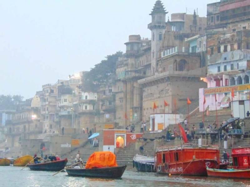 Kashi by  Walk through the Riverfront Ghats