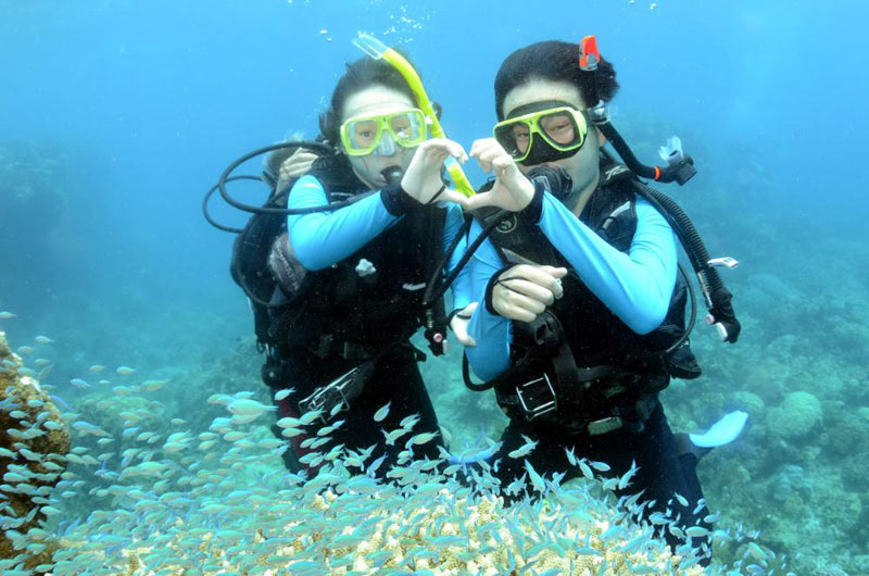 Scuba Diving in Andaman Package