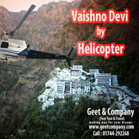 Mata Vaishno Devi Helicopter Tour Package