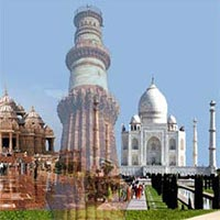 Golden Triangle tour by train