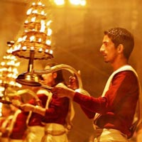 Ganga Aarti at Ganges in Varanasi