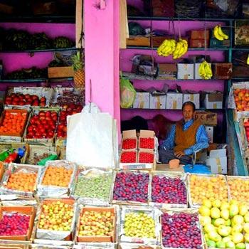 Bhowali Fruit Market