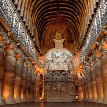 Ajanta with Ellora Caves Tour